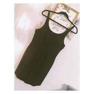 Mini black theory dress 😎